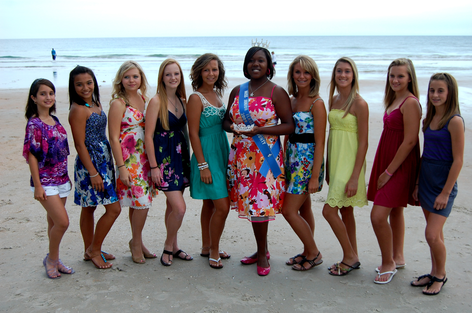 Miss Junior 2010 Flagler County Contestants, Ages 12-15 -5314