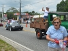 Bunnell's Iron Lady: Mayor Catherine Robinson, with vice mayor Jenny Crain-Brady on the truck.
