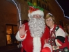 Santa and Bunnell Mayor Catherine Robinson