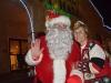Santa and Bunnell Mayor Catherine Robinson
