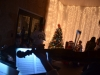 The Flagler Youth Orchestra Quartet Serenading Santa's Visitors