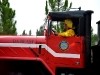 The Bunnell Volunteer Fire Department\'s Beast, at the CR 305 Fire