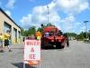 Staging at Flagler County EOC