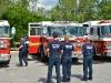 Jacksonville's Fire Trucks at EOC