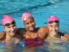 From left, Emily Petkovsek, Alexis Solomon, Carrie Hartnett