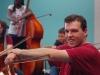 Lower strings teacher, Justin McCulloch