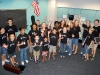 The Youth Orchestra in Spirit Day Garb