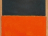 Green and Tangerine on Red, 1956