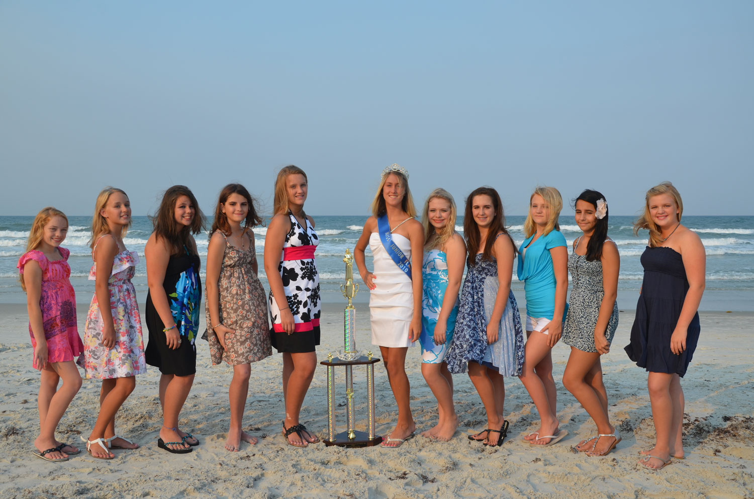 Miss Junior Flagler County 2011 Contestants, Ages 12-15
