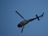 The helicopter transporting the 7-year-old boy