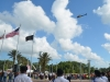 Flagler County Fire Flight Overflies the Ceremony After the National Anthem