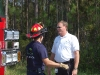 Palm Coast Fire Department Chief Mike Beadle