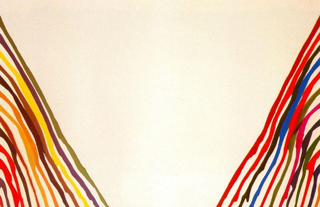 Morris Louis' 'Beta Lambda' (1960)