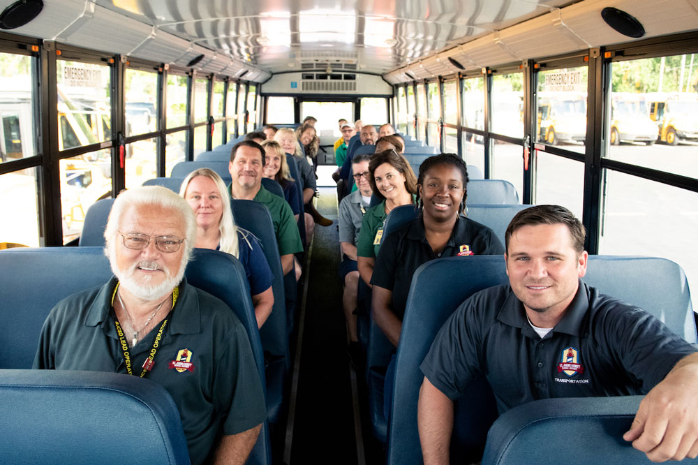 St. Johns County's bus drivers are getting an 11 percent pay increase. (SJC)