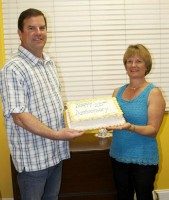 Doug & Sue Jahn of Palm Coast Heating & AC. The company is celebrating 25 years.
