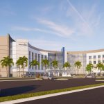 A rendering of the planned AdventHealth Palm Coast hospital on Palm Coast Parkway.