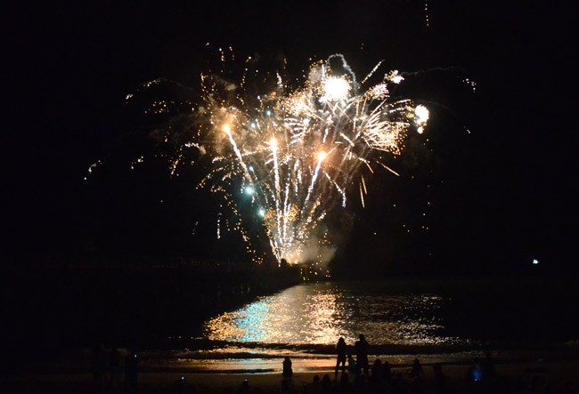 flagler beach fireworks palm coast july 4 independence day schedule