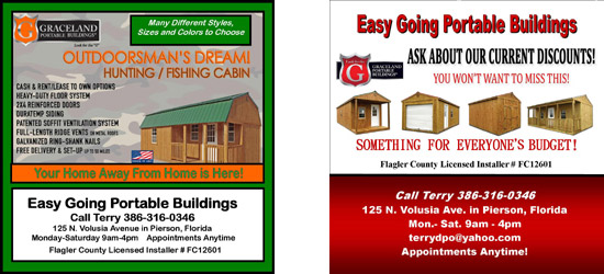 easy going portable buildings