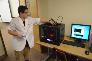 bryce willis 3-d printer