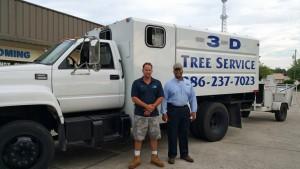 3-d tree service