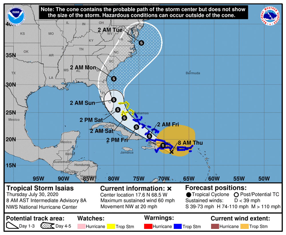 How Hurricane Isaias could impact New England