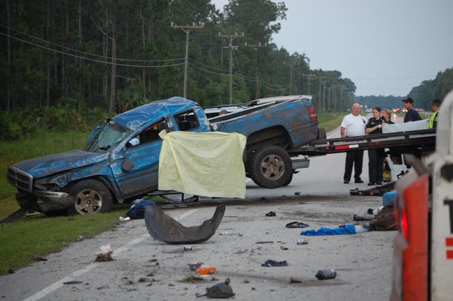 Brandy Bennett, Amanda Copeland june 2010 crash flagler us 1