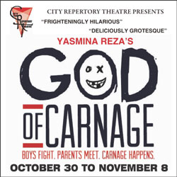 City Repertory Theatre God of Carnage