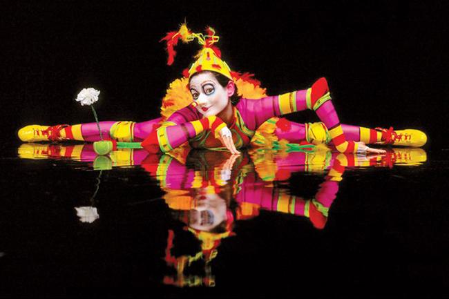 Cirque du Soleil's Florida production of La Nouba