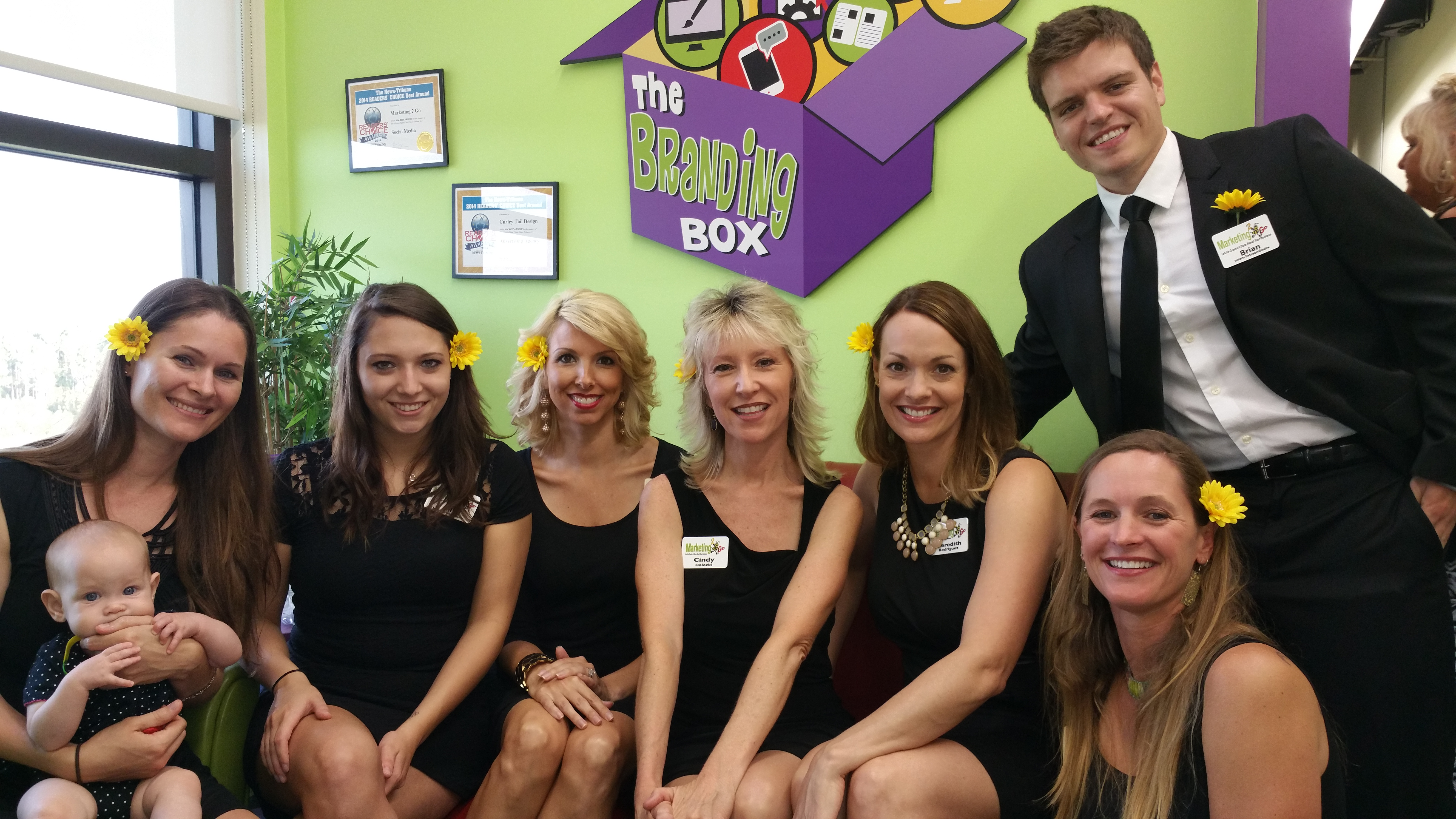 marketing go celebrates years in new digs at city place in marketing 2 go ciondy dalecki