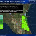 coastal flooding warning