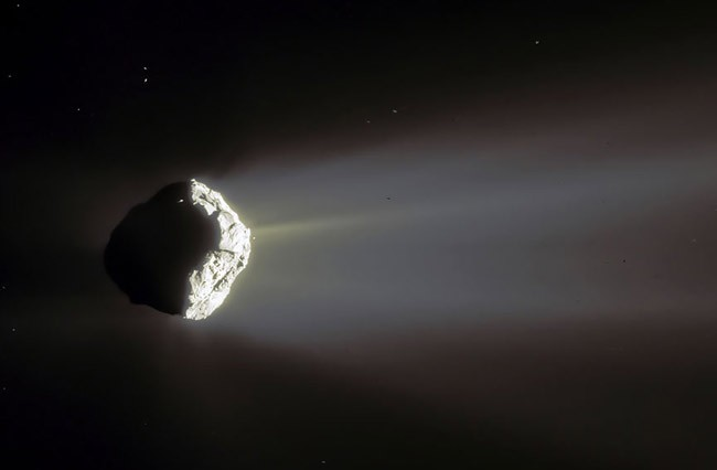 Comet Churyumov Gerasimenko