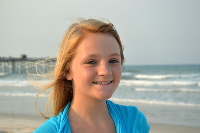 dakota sexton   miss junior flagler county contestant 2011