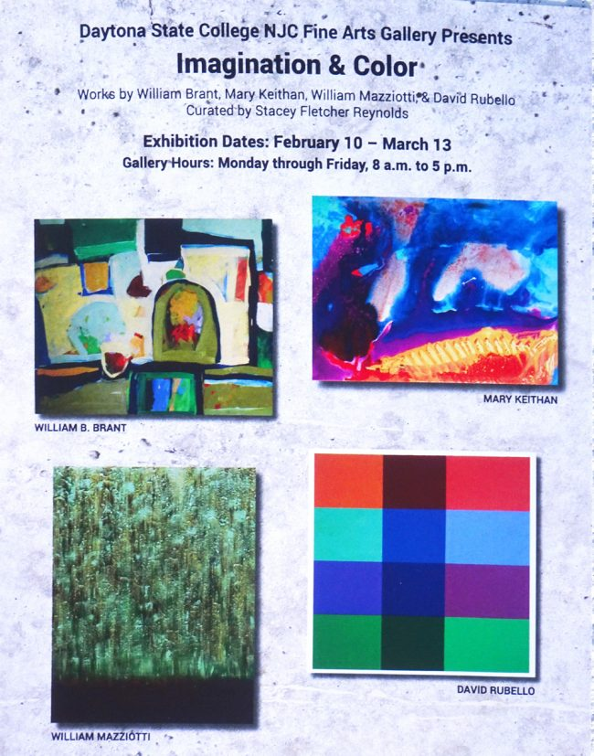 Imagination & Color art exhibition reception