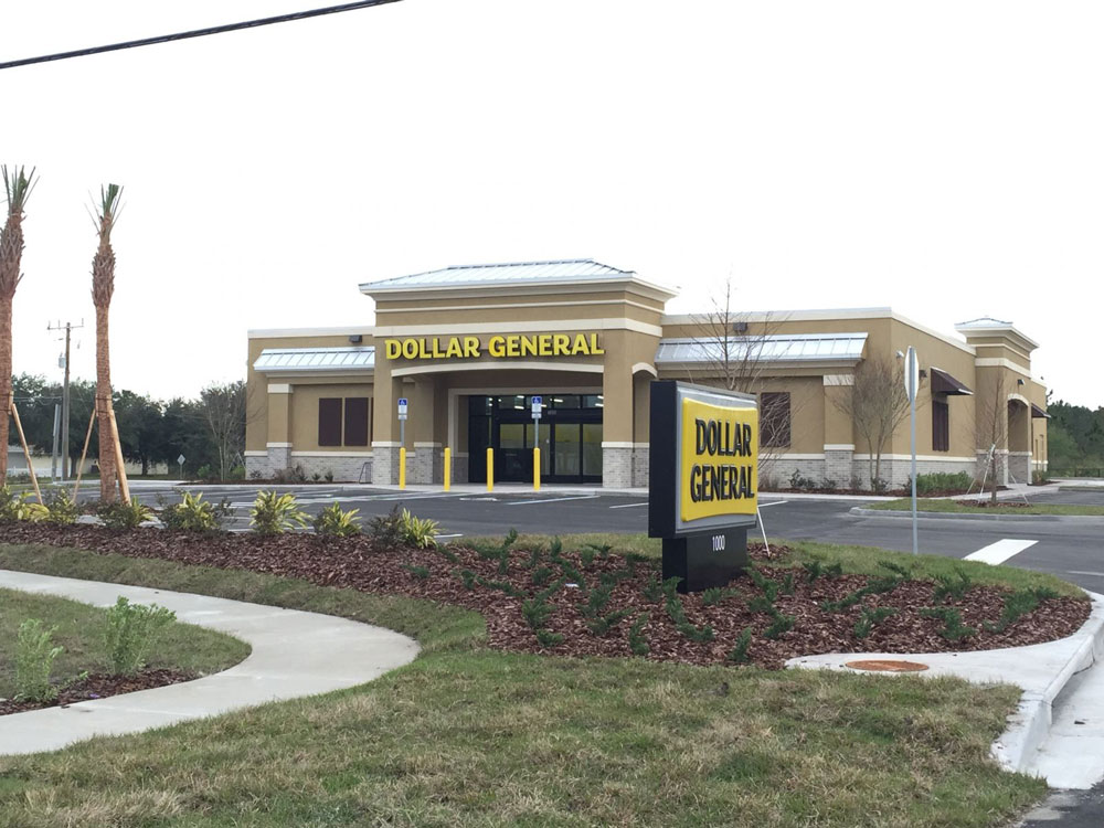 The new Dollar General on Matanzas Woods Parkway in Palm Coast. (GoToby.com)