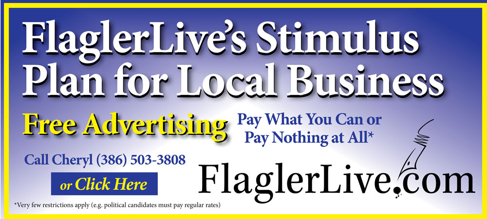 flaglerlive free advertising stimulus plan