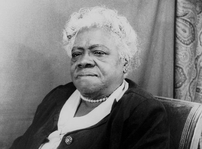 Mary McLeod Bethune. (Wikimedia Commons)