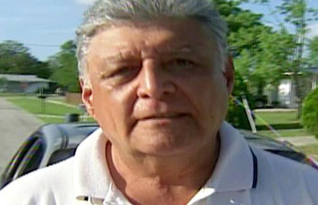 Pedro Pablo Barrientos, now an American citizen, is 64. (Chilevision screenshot)