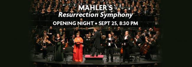 mahler resurrection symphony orlando