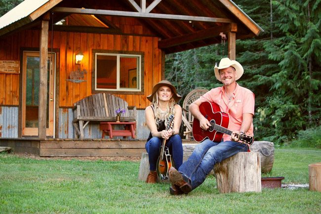 Country music artists Coley McCabe and Thom Shepherd will perform Saturday May 4 and Sunday May 5 at the Palm Coast Songwriters Festival. The husband-and-wife duo write music together and separately. (Thom Shepherd)