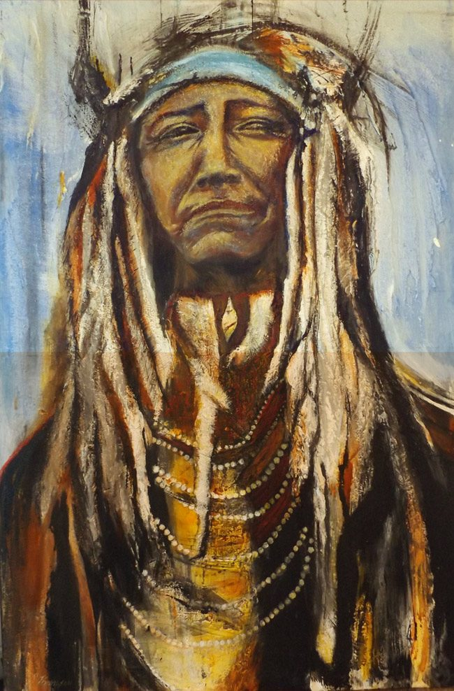 'Resurgence: Southwest Native Americans in Literature & Art,' a Jan. 20-21 event in Flagler Beach, will explore the work of an Ormond Beach artist haunted by Georgia O'Keeffe, Chief Two Moons and a Jewish-Native American Connection.