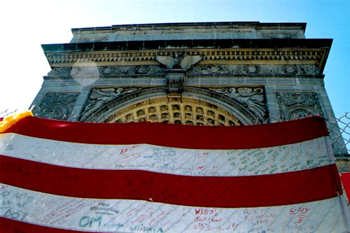 Washington Square Park After 9/11