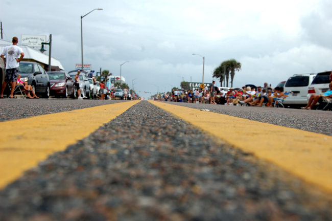 State Road A1A in Flagler Beach. (© FlaglerLive)