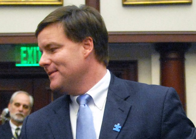 Sen. Aaron Bean's plan checks its exit strategy. (Mark Foley)