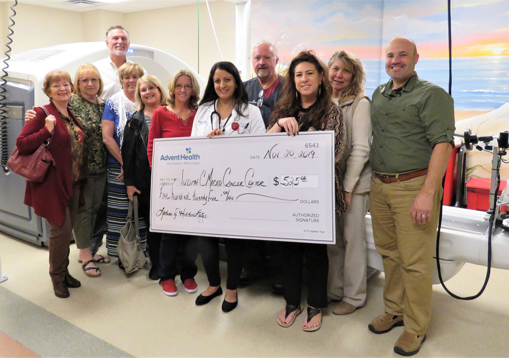 adventhealth donation cancer