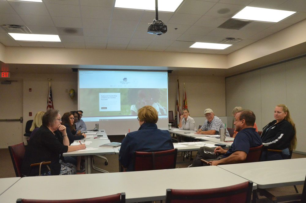 Flagler County's Affordable Housing Advisory Committee, meeting this morning in Bunnell, developed the revisions to the county's 1990 fair-housing ordinance over the past several months. The proposal goes before the County Commission likely in December. (© FlaglerLive)