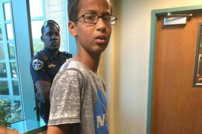 ahmed mohamed bigotry clock
