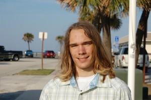 Alan Forehand of Flagler Beach, surfer