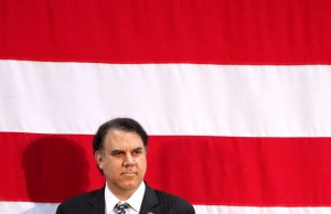 Alan Grayson takes his stars and strips seriously.  (A. Trumbly)