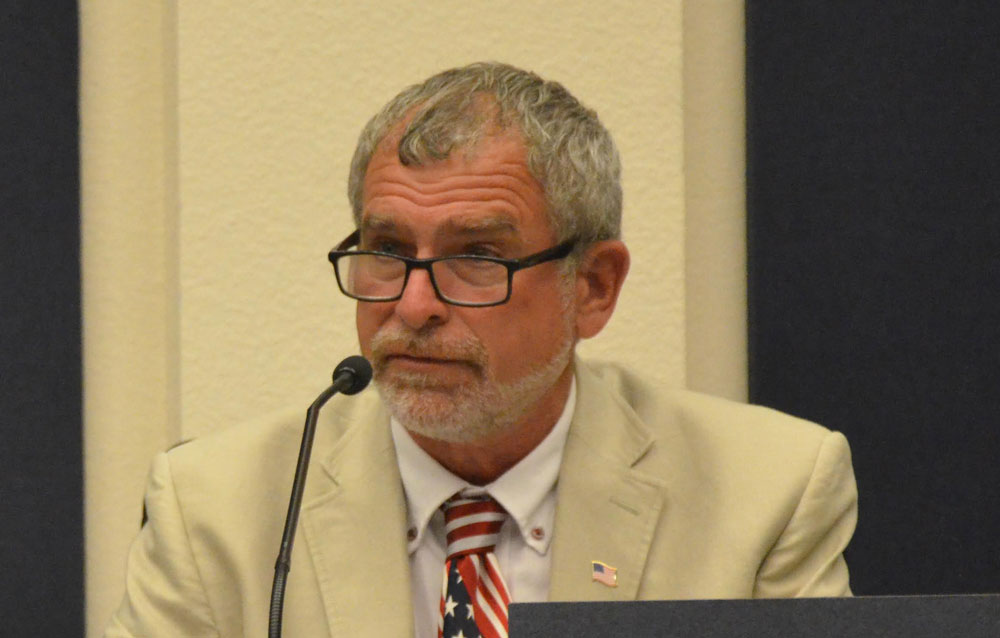 Alan Lowe is a candidate for Palm Coast mayor. (© FlaglerLive)