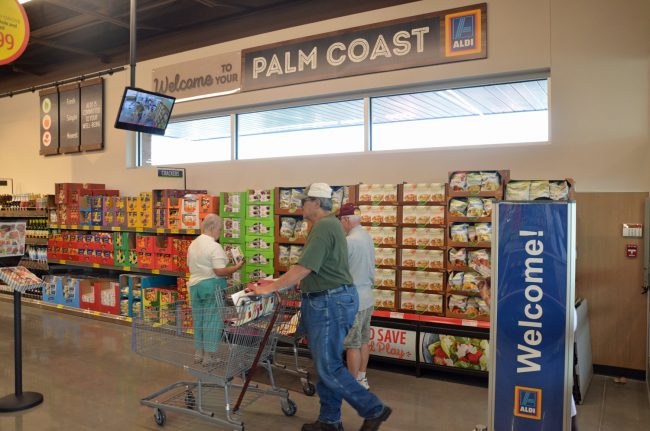 aldi palm coast opening grocery wars